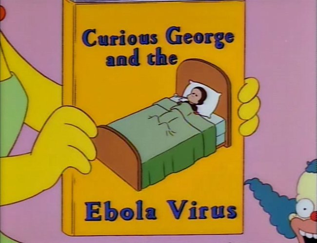 Ebola Simpsons Book