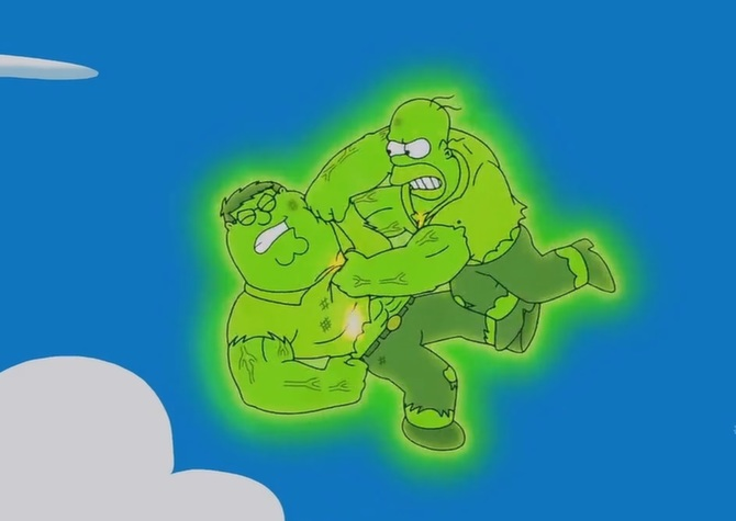 Radioactive fight crossover