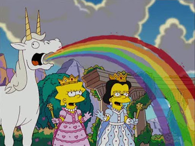Rainbow Simpsons