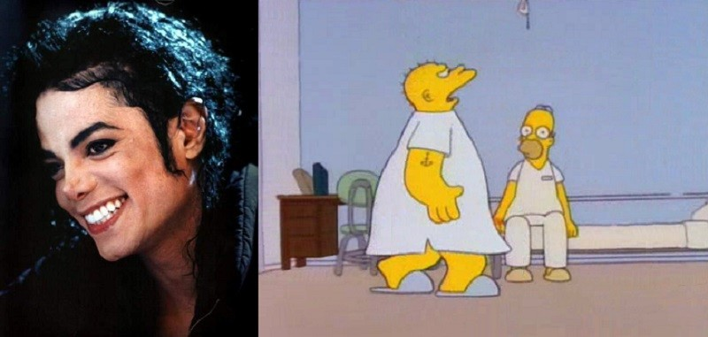 Michael Jackson Simpsons