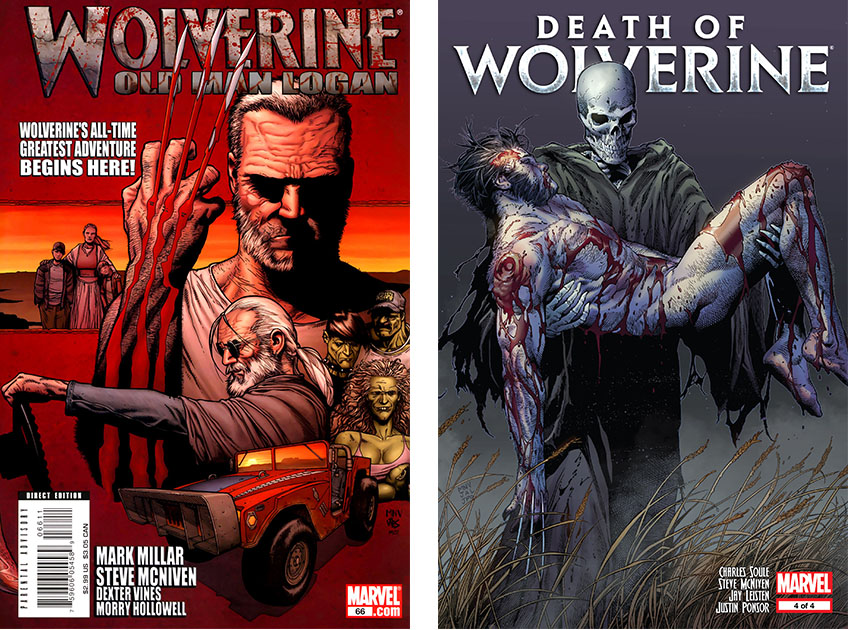 Old Man Logan and Death of Wolverine