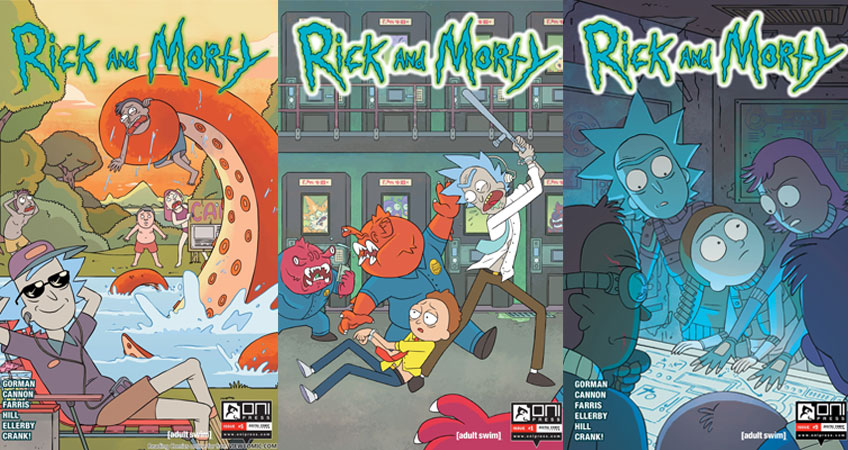 Rick and morty rushed licensed adventure скачать игру